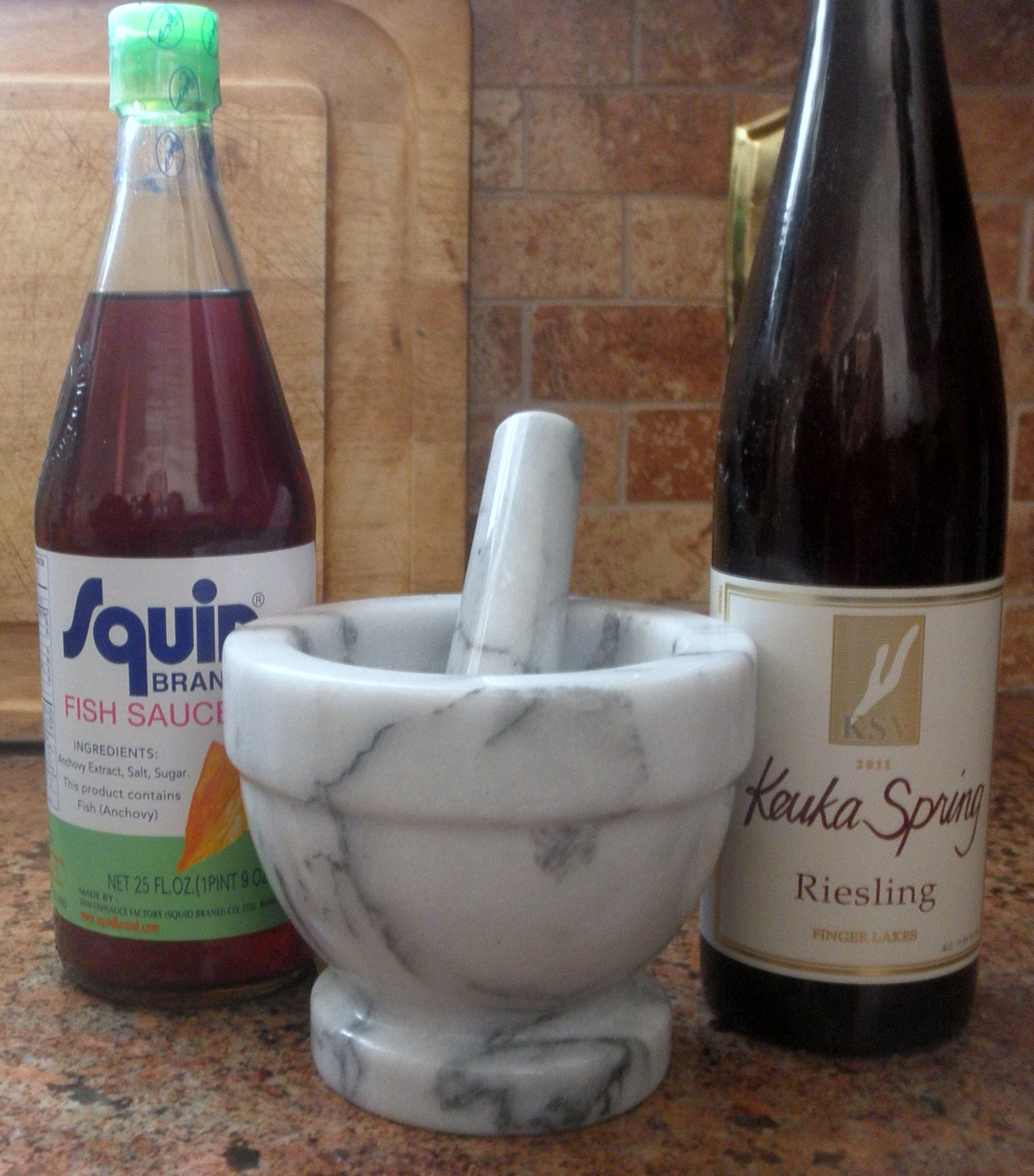 My big fat fish sauce wine pairing wineonmymind for What wine goes with fish