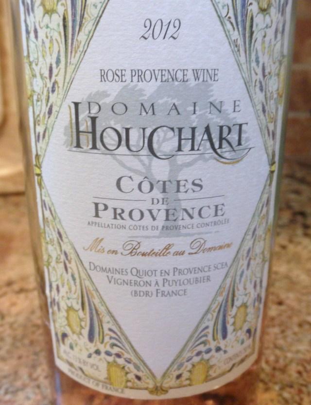Domaine Houchart Cotes de Provence 2012