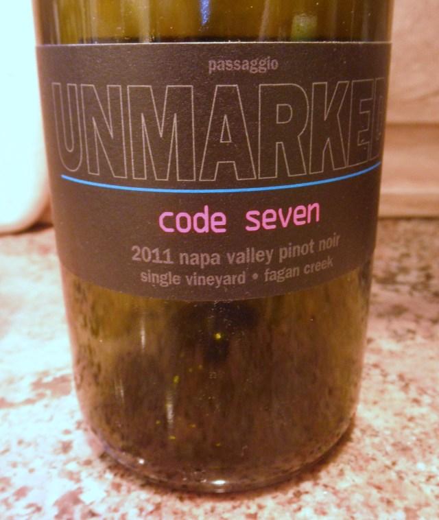 Passaggio Unmarked Code Seven